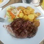 Dinner - Delmonico steak