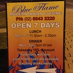 Blue Flame Modern Indian Cuisine