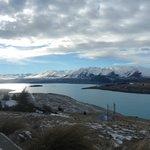 View from Astro Cafe Lake Tekapo