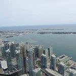 Vista do Restaurante 360 CN Tower
