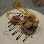 délicieux dessert au Gianduja