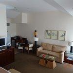 big room, new furniture