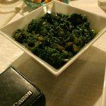 Tasty greens were a favorite dish.