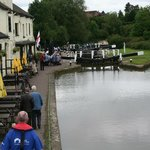 the pub taken from the middle lock
