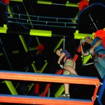 Glow in the dark ropes course