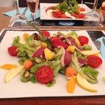 salade magret