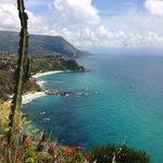 Strandaufsicht vom Capo Vaticano