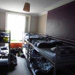 A 6 bed dorm