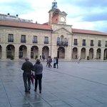 Plaza de España.  Avilés.
