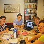Maria, Pat e Lisa con Michele - Giugno 2014