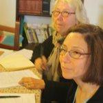 Tyna dall'Olanda e Esther dagli Stati Uniti: hanno promesso di tornare l'anno prossimo! Maggio 2