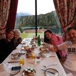 Desayunando en familia!