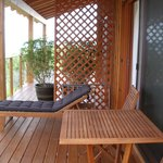 Woodpecker room deck