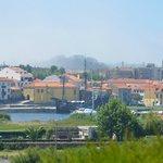 Vistas de Vila Do Conde desde el jardín