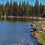 Brooke Trout Yosemite Elizabeth lake