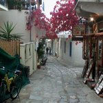 Typical Skiathos Street