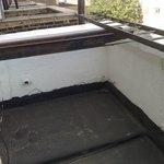 balcony of room 12A