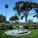 The resorts gardens