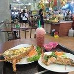My brunch in Banzaan Market
