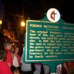 Information about former graveyard