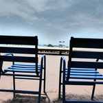Le sedie blu della Croisette