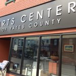 Travel Writer Brandon Sousa visits The Arts Center of Yates County