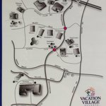 layout of the Vacation Village area. Includes Bonaventure, Weston, and Mizner Place.