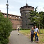 at the Castle Sforzesco