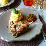 Duck confit a la provencal