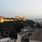 La Alhambra at Sunset