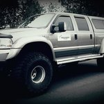 Our Ford 250 truck from our fleet.