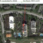 Google map of Heron II and our room placement