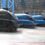 A4 Class Engines (Mallard at the rear)
