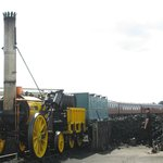 A fully working Stephenson's Rocket