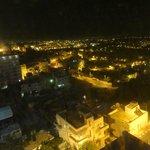 Panorama della valle di Bethlehem dalla stanza