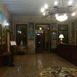 Villa Tacchi entrance/reception hall