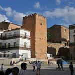 Moorse toren op de Plaza Mayor