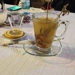 English Lavender Tea at Imren pastry shop