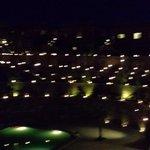 Nightview of the garden