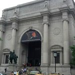 The main entrance across from Central Park