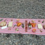 our little picnic, made with love ...