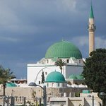 Vista de la mezquita