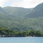 "The beautiful ""mountains"" of Labadee"