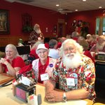 Look!!  Even Santa and Mrs Clause love Carter Brothers
