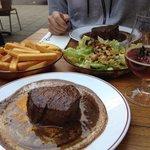 The best beef steak in Amsterdam.