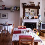 Lovely bright breakfast room
