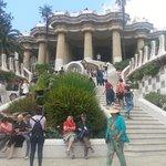 Colonnade & 3 flights of steps