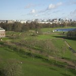 View from Room of Kensginton Palace & Hyde Park