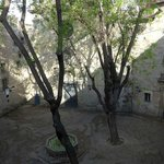 View from our room of Filip Courtyard