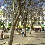 A beautiful old Spanish square
